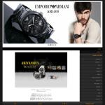 طراحی سایت گالری ساعت آریانوس