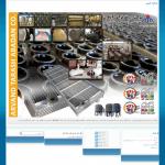 طراحی سایت شرکت اروند تراش