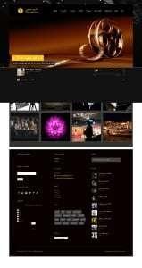 طراحی سایت گروه هنری تصویر سازان