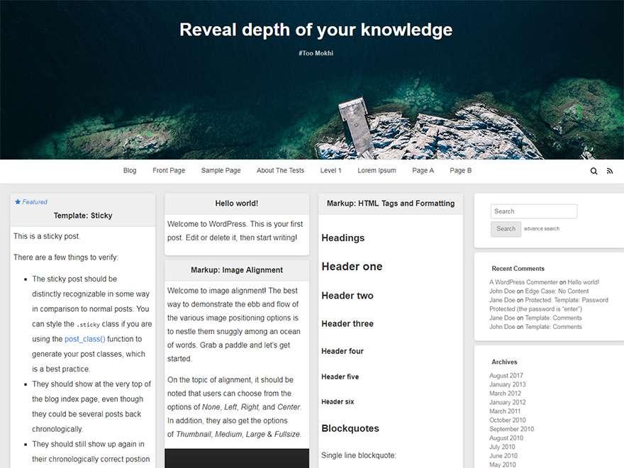 قالب وردپرس رایگان ایرانی WordPlus